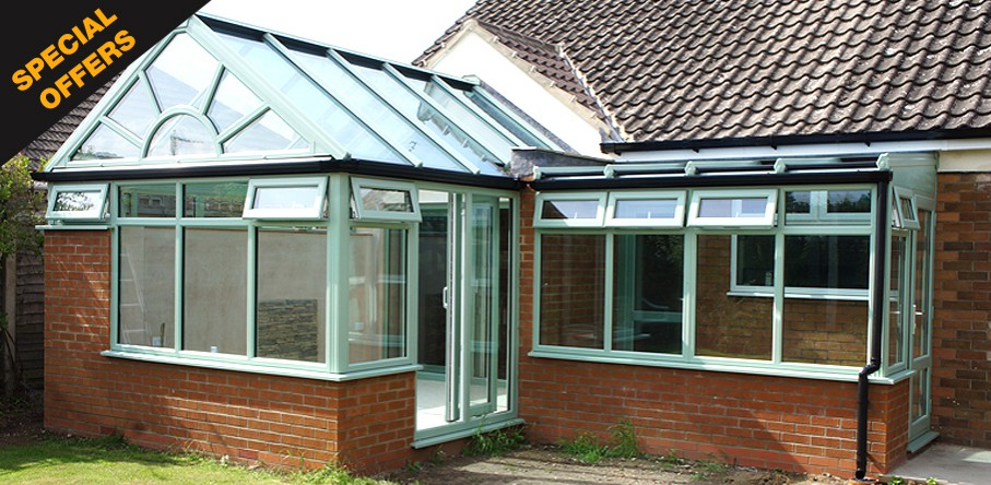 Individually designed conservatories